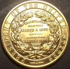 Buy Gem Unc Ulysses S. Grant Presidential Bronze Inauguration Medallion~Free Ship