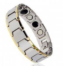 Buy ELECTRIFIED FEEL BETTER EJCN-001B Tungsten Bracelet with 18 Health Stones