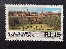 Buy South africa 1 v used stamp 1994 Inauguration of President Nelson Mandela Unio