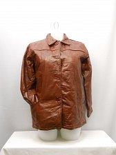Buy Womens Jacket Genuine Leather SIZE L TUDOR COURT Bordeaux Zip Lining