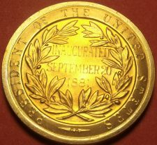 Buy Gem Unc Chester a Arthur Presidential Bronze Inauguration Medallion~Free Ship