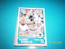 Buy 1988 Score Young Superstars series 11 baseball card BOBBY BONILLA #9 FREE SHIP