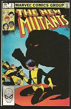 Buy The NEW MUTANTS #3 Claremont +McLeod 1st print & series MARVEL COMICS 1983