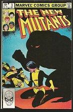 Buy The NEW MUTANTS #3 Claremont +McLeod 1st print & series MARVEL COMICS 1983