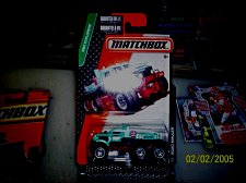 Buy Matchbox 2015 explorers road mauler GREEN #98 MINT ON CARD