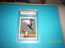Buy ROGER CLEMENS 1990 UPPER DECK #323 RED SOX BASEBALL CARD GMA GRADED MINT 10