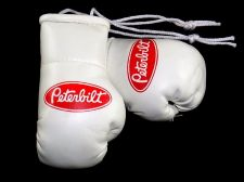 Buy Peterbilt Trucks mini boxing gloves ideal for windscreen (a pair)