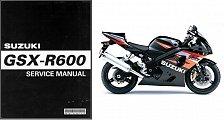 Buy 04-05 Suzuki GSX-R600 Service Repair Manual CD ---- GSXR600 GSXR 600 GSX R