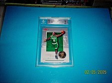 Buy 2000-01 Fleer Authority JEROME MOISO CELTICS BGS 9 Graded Rookie Basketball Card