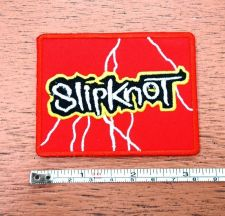 Buy New Slipknot Heavy Metal Band embroidered iron on patch free shipping