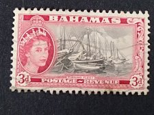 Buy Bahamas stamp 1v used Queen Eisabeth II and Landscapes Issue