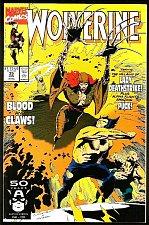 Buy WOLVERINE #35 VF+/NM Marvel Comics 1991 1st print 1st long series