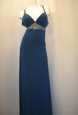 Buy Womens Formal Prom Dress SIZE 20 Hand Beaded Evening Bridal Bridesmaids