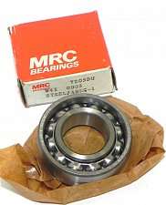 Buy new sealed - MRC 7205DU 0003 steel ABEC-1 BEARING ROLLER BALL 1inch BORE center