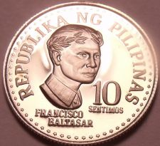 Buy Rare Proof Philippines 1978 10 Sentimos~Only 4,872 Minted~Bank Seal~Free Ship
