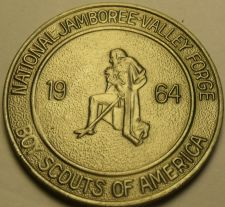 Buy Gem Unc Boy Scouts National Jamboree 1964 Medallion~Valley Forge PA~Free Ship