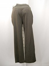 Buy SIZE 16 DRESS PANTS 38X30 JM COLLECTION Brown Tummy Control Comfort Waistband