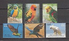 Buy India 2016 MNH Exotic Birds Set of 6 Stamps Thematic Bird Set