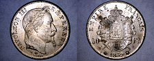 Buy 1859-A French 50 Franc World Coin - France - COPY