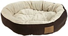 Buy AKC Casablanca Round Solid Pet Bed