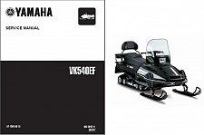 Buy 2001-2005 Yamaha VK540 Snowmobile Service Repair Manual CD -- VK 540 Viking