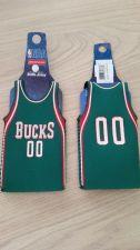 Buy Lot of 2 Milwaukee Bucks Bottle Jersey Koozies (405)
