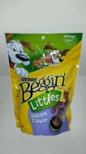 Buy BRAND NEW BAG OF PURINA BEGGIN LITTLE STRIPS DOG TREATS (BACON)