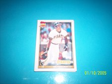 Buy 1991 Topps Traded card of orlando merced pirates #81T mint free ship