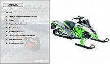 Buy 2012 Arctic Cat All 2 & 4 Stroke Model Snowmobiles Service Repair Manual CD