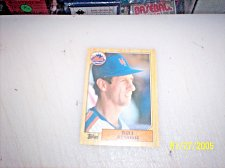 Buy 1987 Topps Traded Baseball BILL ALMON METS #T1 FREE SHIPPING