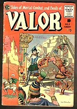 Buy VALOR #3 Al Williamson, Orlando, Kreigstein Art 1955 EC COMICS 1st Print& Series