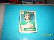 Buy 1987 Topps Traded Baseball DENNIS ECKERSLEY A'S #31T FREE SHIPPING