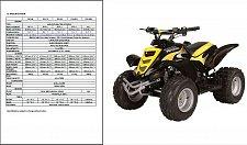 Buy E-TON Viper 50 70 90 ATV ( RXL50 RXL90 RXL70 RXL50M ) Service Manual on a CD