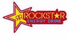 Buy 1 New stickers/decals Rockstar Energy Motocross ATV Racing Free shipping 04