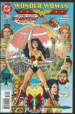 Buy WONDER WOMAN #120 DC COMICS George Perez John Byrne ExtraPgs 1996 VF+ 10thAnn