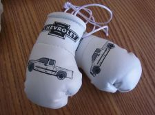 Buy Chevrolet Pick-up Mini Boxing Gloves for rear view mirror