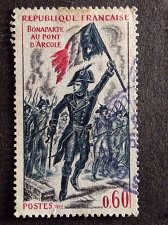 Buy France 1v used stamp 1972 France Bonaparte at Arcole bridge by A