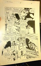 Buy Dr. STRANGE COMIC ART Issue #10 Page 13 Original Art Signed by Jackson Guice