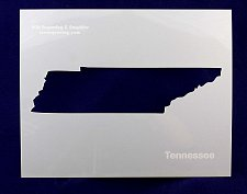 Buy State of Tenessee Stencil -14 mil Mylar Painting/Crafts