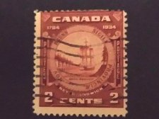 Buy Canada Error stamp Used 150th Anniv. of Province of New Brunswick