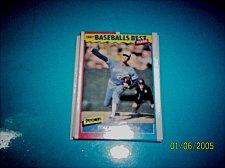 Buy 1987 Fleer Baseballs Best Sluggers Vs Pitchers TOM HENKE #19