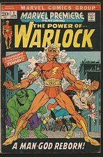 Buy Marvel Premiere #1 POWER OF WARLOCK Thomas/Kane 1971 Vol. 1 1st print ORIGIN key