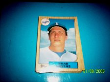 Buy 1987 Topps Traded Baseball CARD OF BRAD HAVENS DODGERS #T44 MINT