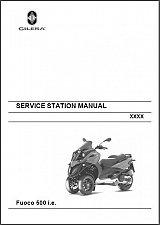Buy Gilera Fuoco 500 i.e ( Piaggio MP3 500 ) Service & Parts Manual on a CD