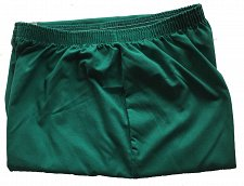 Buy One Pair Scrub Pants Size Large L Green Elastic Waistband