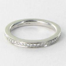 Buy Hearts On Fire Identity Band Ring 0.17cts Diamond Platinum Sz 6.5 New $3000