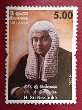 Buy Sri Lanka 1v mnh Stamp 2014 Thematic Kings Counsel H. Sri Nissanka