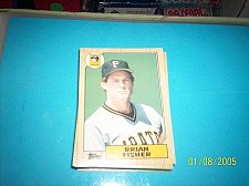 Buy 1987 Topps Traded Baseball BRIAN FISHER PIRATES #33T FREE SHIPPING