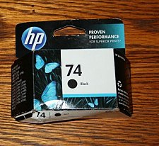 Buy 74 HP BLACK ink - PhotoSmart OfficeJet J6480 J6450 J5780 J5750 J5740 printer