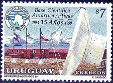 Buy Uruguay 1v MNH stamp Uruguayan antarctic base Artigas